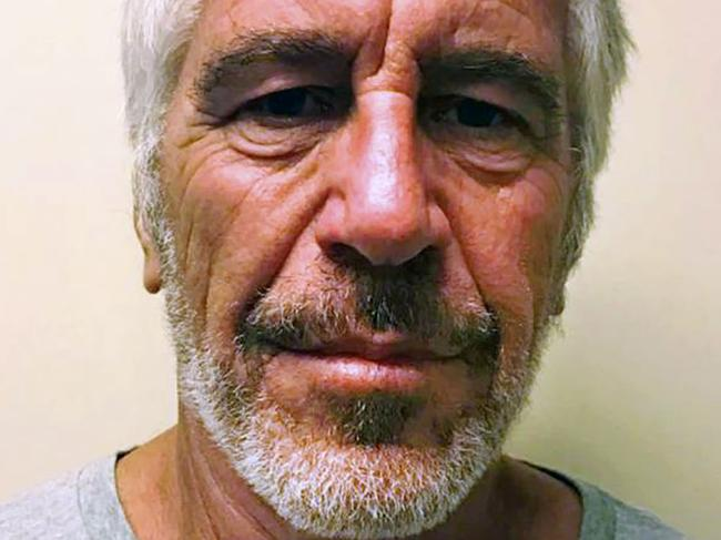 Epstein was found dead in his jail cell in August last year. Picture: New York State Sex Offender Registry/AFP