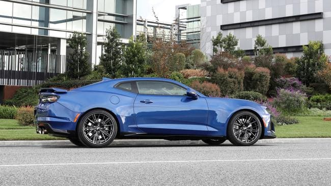 The ZL1 doesn't come cheap at more than $150,000.