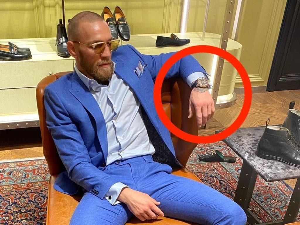 Conor McGregor's new watch has a hidden X-rated detail.