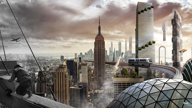 NYC in the future. Picture: Budget Direct