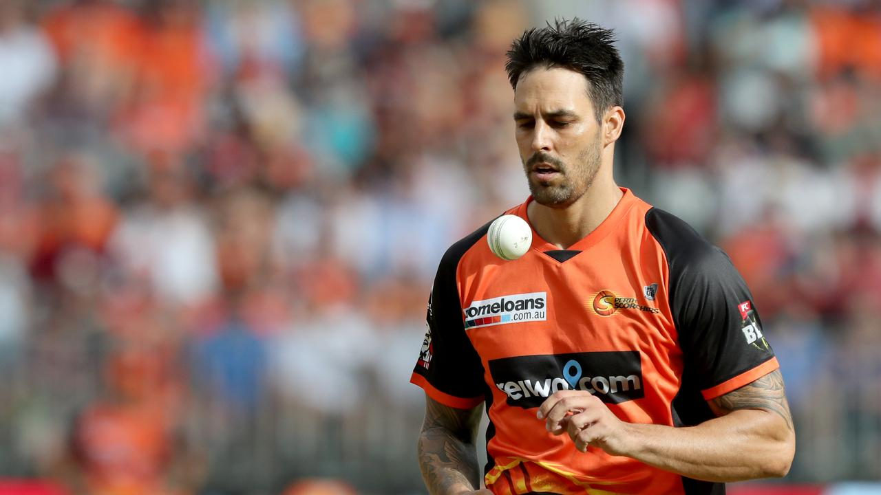 Mitchell Johnson has called it a day on his Big Bash League career.