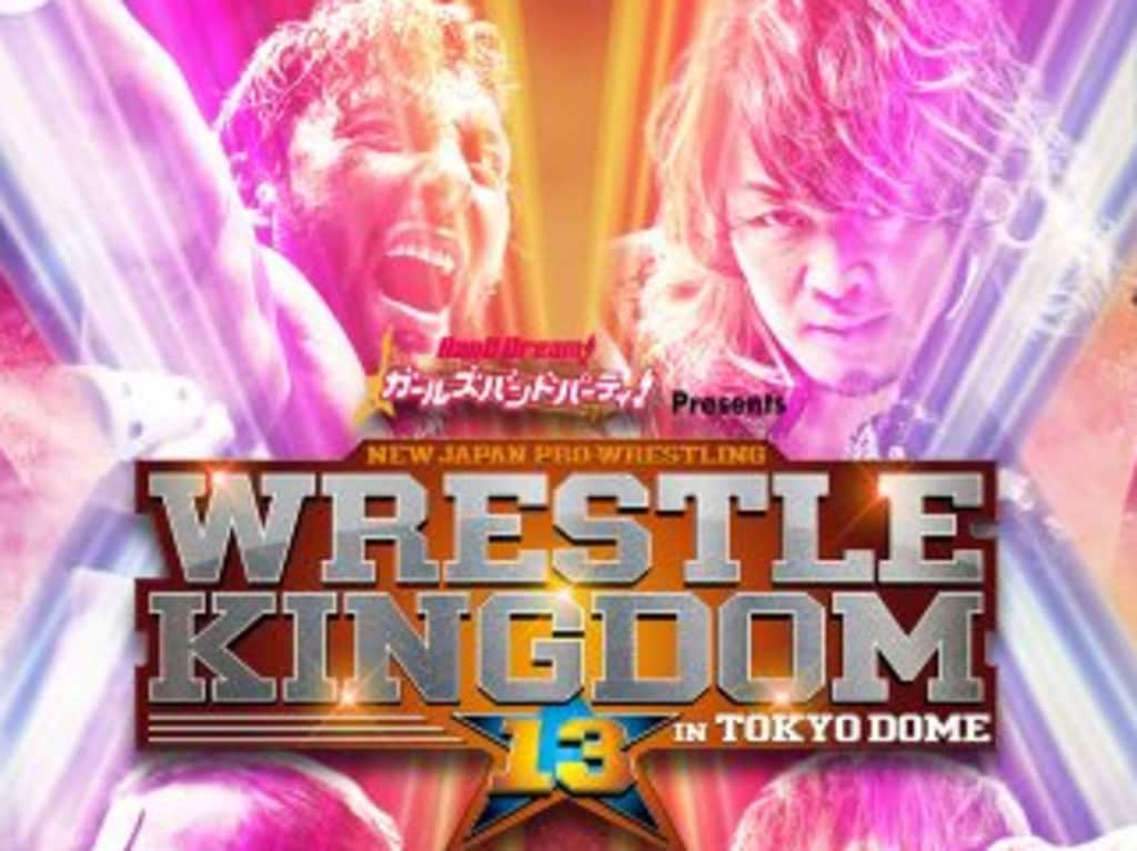 New Japan Pro Wrestling's biggest show of the year, Wrestle Kingdom, has its 13th edition on January 4.