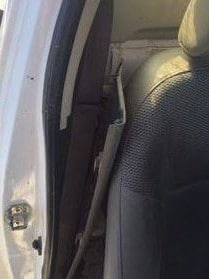 The hidden seatbelt strap. Picture: SA Police