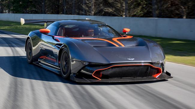 aston martin vulcan to be raced at clipsal 500 only car delivered to southern hemisphere fox. Black Bedroom Furniture Sets. Home Design Ideas