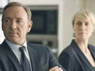 Kevin Spacey and Robin Wright in season two of Netflix's House of Cards. Picture: Nathaniel BellSource:Supplied