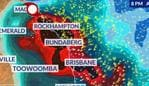 A coastal track of Cyclone Owen could see much of coastal Queensland and northern NSW being affected by Sunday. Picture: Sky News Weather