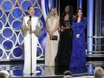 Sandra Oh from Killing Eve accept the Best Performance by an Actress in a Television Series Drama award onstage during the 76th Annual Golden Globe Awards on January 6, 2019 in Beverly Hills, California. Picture: Getty