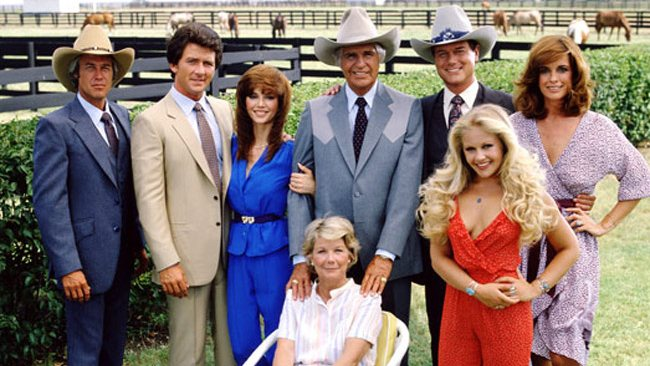 Larry Hagman played the notorious Texan oil tycoon JR Ewing in the long-running hit series Dallas.