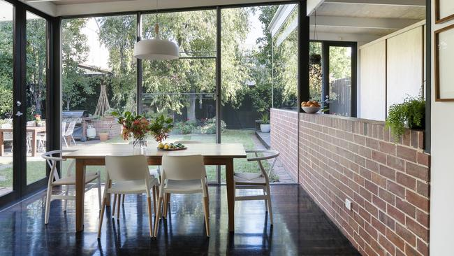 Bringing natural light and the gardens inside was a focus of the design.