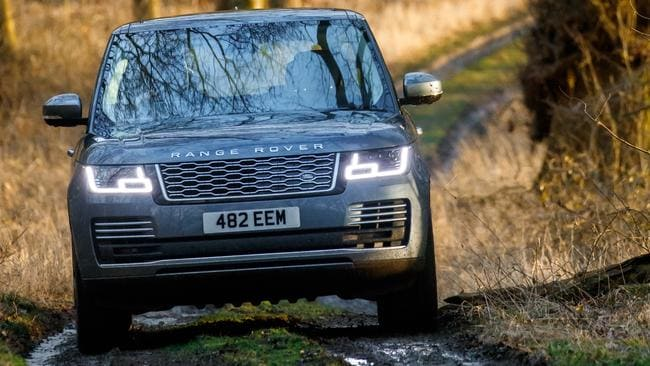 The Range Rover is one of the most capable offroaders available. Picture: Supplied.