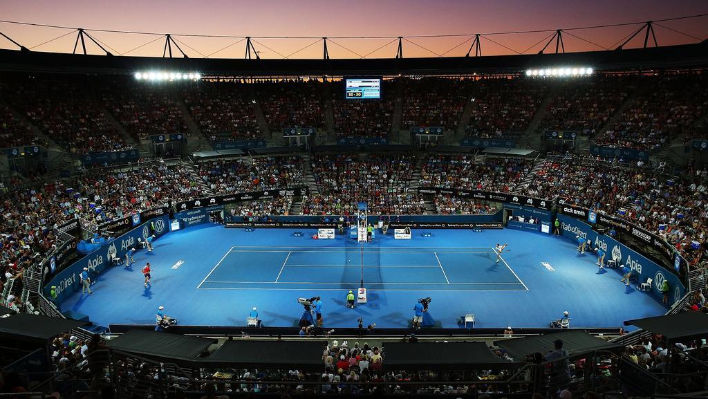 The Sydney Olympic Park Tennis Centre