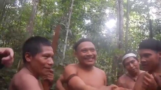High-risk voyage succeeds with isolated Korubo tribe in Brazil