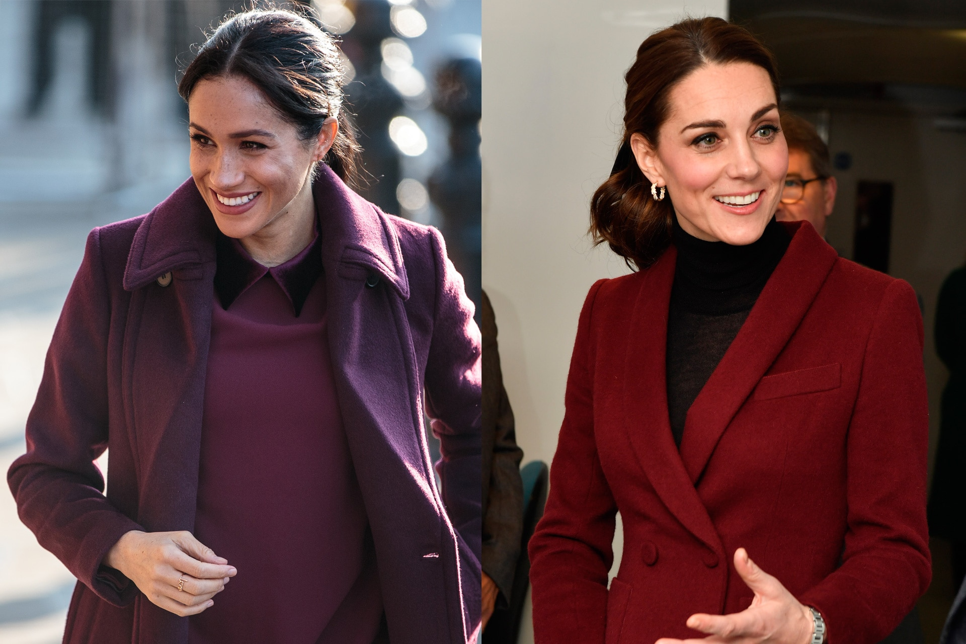 6fb0d9753b13 Kate Middleton and Meghan Markle are making twinning style a royal habit