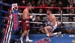 Canelo drops Rocky with body blows