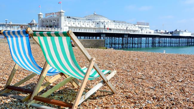 The seaside resort city of Brighton would have been the main landing point for German troops. Photo: iStock