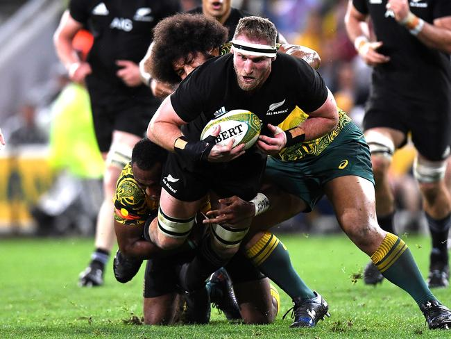 All Blacks captain Kieran Read says the Wallabies made use of opportunities they were granted.