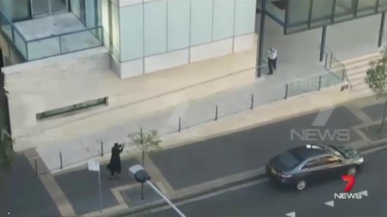 Final moments of gunman Farhad Khalil Mohammad Jabar