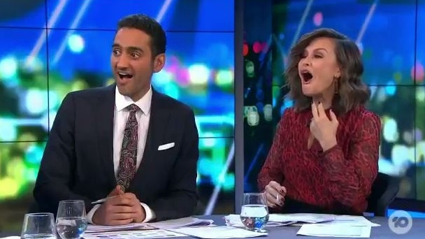 Waleed Aly and Lisa Wilkinson