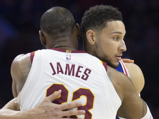 Could LeBron James and Ben Simmons being together next season?