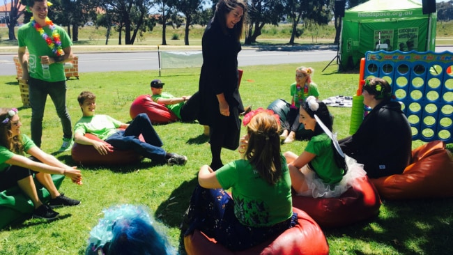 The Senator with a youth reference group at headspace Rockingham. Image: Supplied.