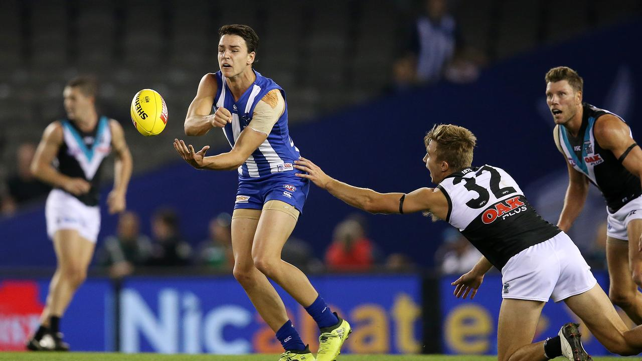 North Melbourne's Luke Davies-Uniacke will be better with another preseason under his belt.