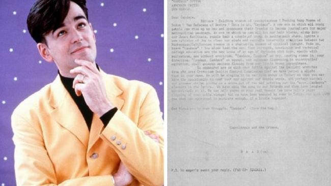 The third letter written by Tim Ferguson.