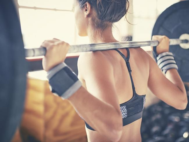 Women should look at weight training two times per week.