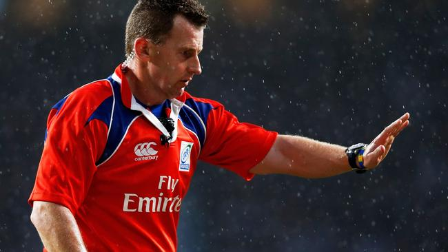Nigel Owens of Wales in action during the Test between England and New Zealand at Twickenham Stadium in 2014. Picture: Phil Walter/Getty Images
