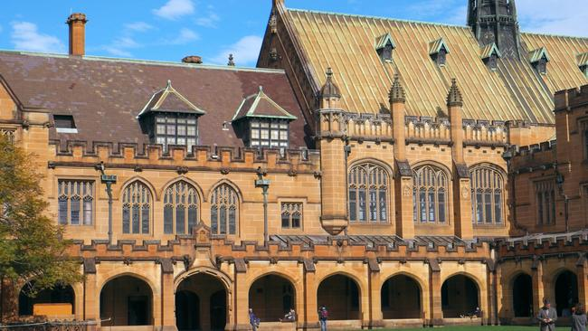 The University of Sydney. Picture: Getty Images