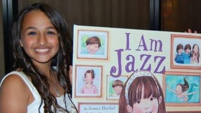 "Inspiring ... Harding says she's been following the story of transgender teen, Jazz Jennings for ""maybe five years now"" with Jennings about to star in her own reality show, All That Jazz. Picture: Supplied."