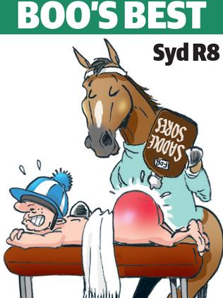 Boo Bailey's cartoon tip for Rosehill