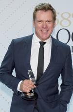 Best Actor winner Erik Thompson at the 58th Logies Awards 2016 at Crown Casino. Picture: Jason Edwards