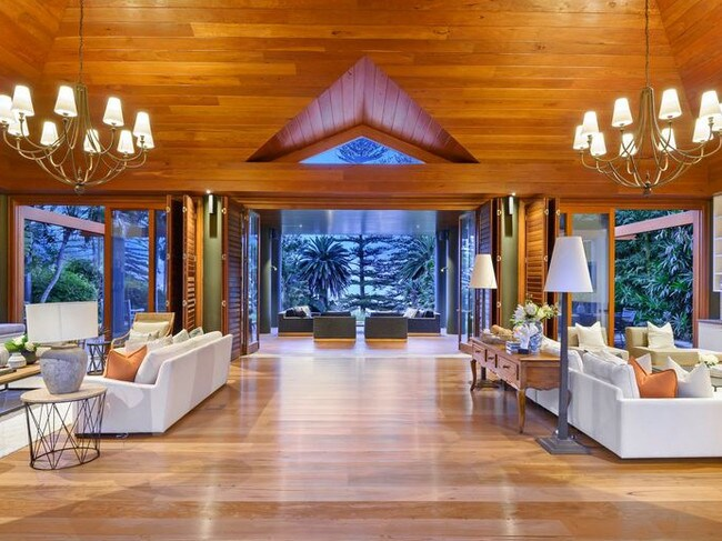 Timeless style and a heavy use of cedar.