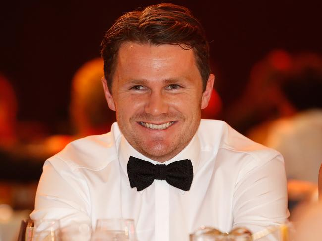 Patrick Dangerfield looks on during the 2016 Brownlow Medal Count.