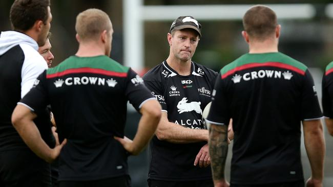 Michael Maguire during South Sydney training earlier in the year.
