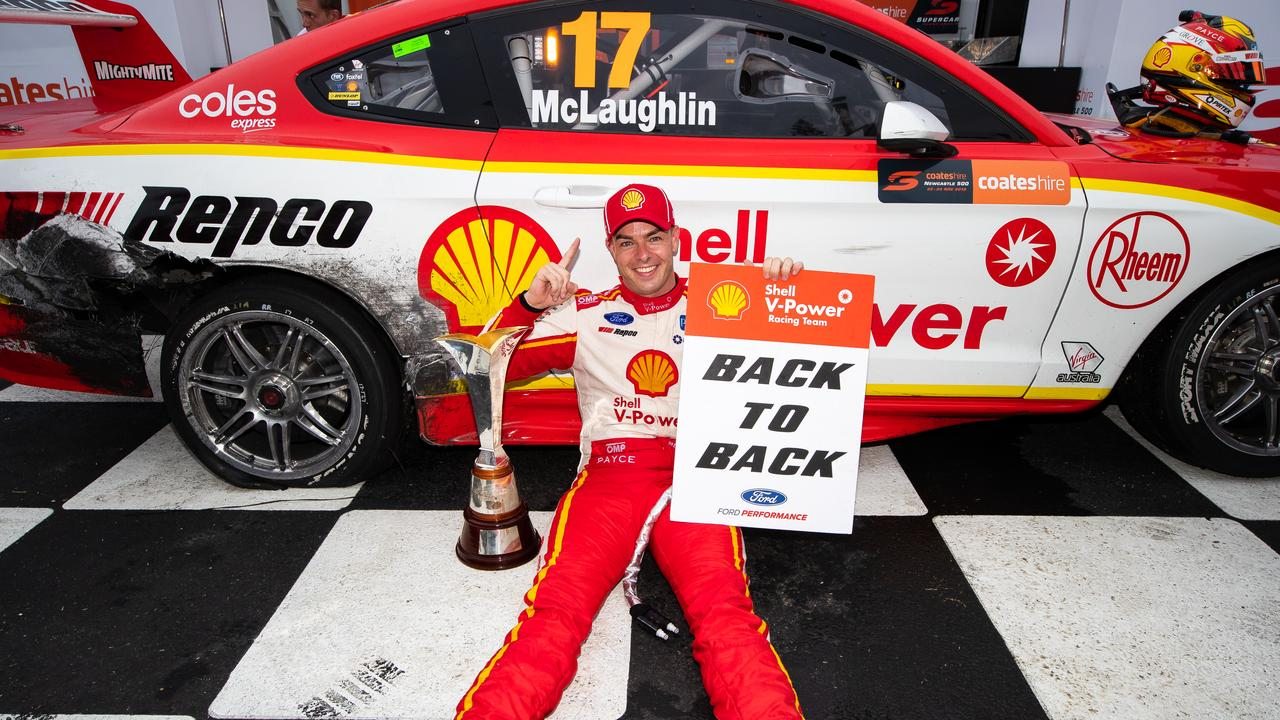 Finally, says McLaughlin. Picture: Daniel Kalisz