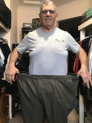 Vince the fruit seller weighed 180kgs at his heaviest.