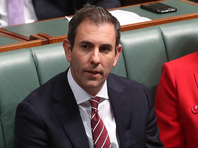 Jim Chalmers denies Labor is trying to hold up tax cuts. Picture: Kym Smith
