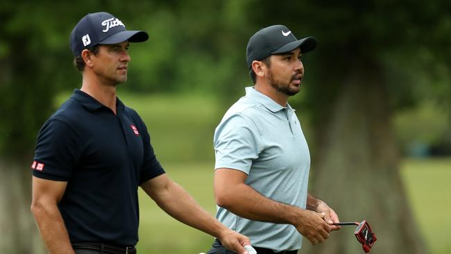 Adam Scott and Jason Day teamed up last week but couldn't get beyond the first two rounds.