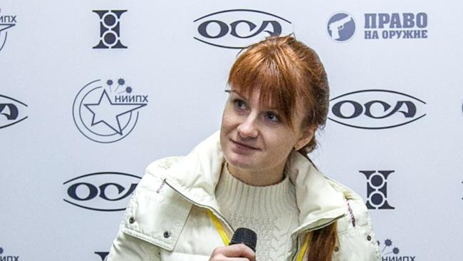 Maria Butina, leader of a pro-gun organisation, has been accused of attempting to infiltrate US politics.