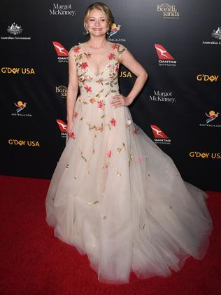 Australian actress Emily de Ravin. Picture: Photo by Robyn Beck / AFP