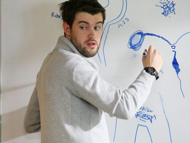 Jack Whitehall in a scene from Bad Education. Pic supplied by ABC.