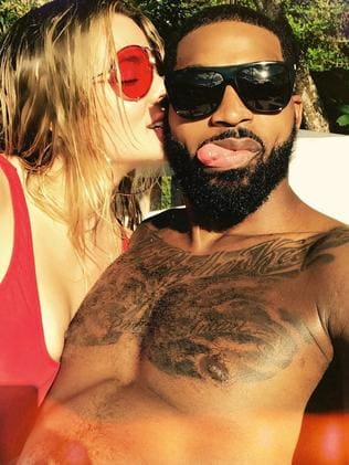 Khloe Kardashian and Tristan Thompson. Picture: Instagram