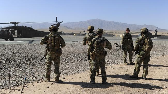 Australian Special Forces soldiers in northern Kandahar province. Picture: ADF.