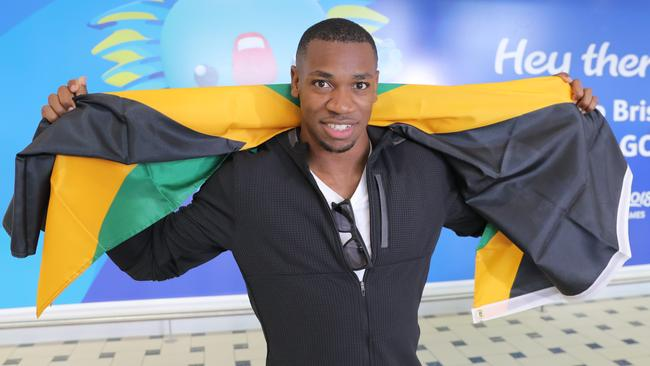 Jamaica's Yohan Blake has upped the rivalry. (Mark Cranitch.)