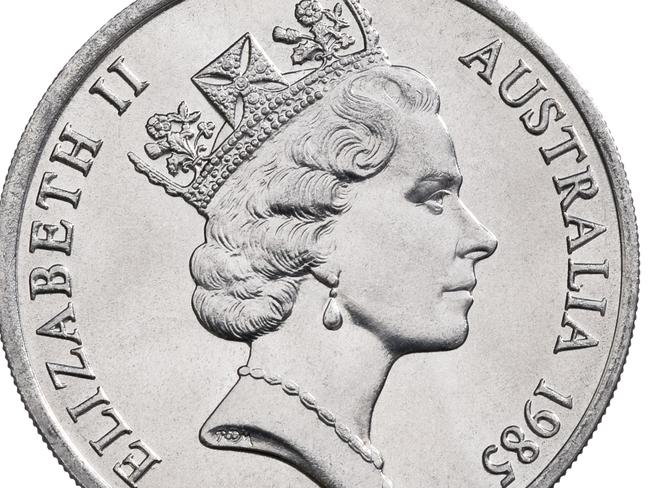 Queen Elizabeth II's portrait as it appeared on Australia's currency.