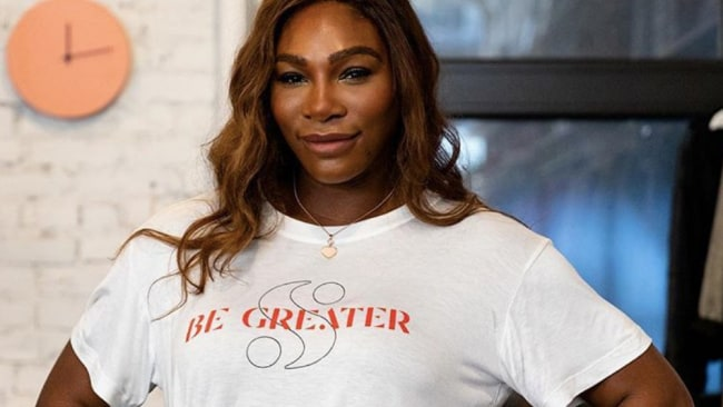 Serena says she had to learn to embrace her body Source: Instagram/@serenawilliams
