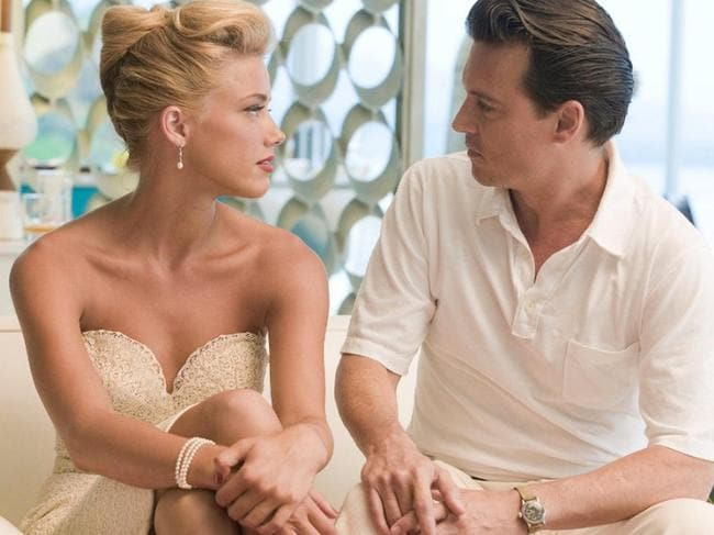 Amber Heard and Johnny Depp met on the set of The Rum Diary in 2011.