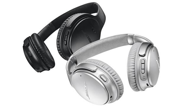 The impressive headphones come in two colours.