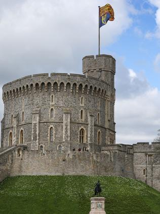 Windsor Castle is one of the Queen's residences. Picture: AFP/Peter Macdiarmid